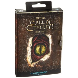 Metal Call of Cthulhu Dice...